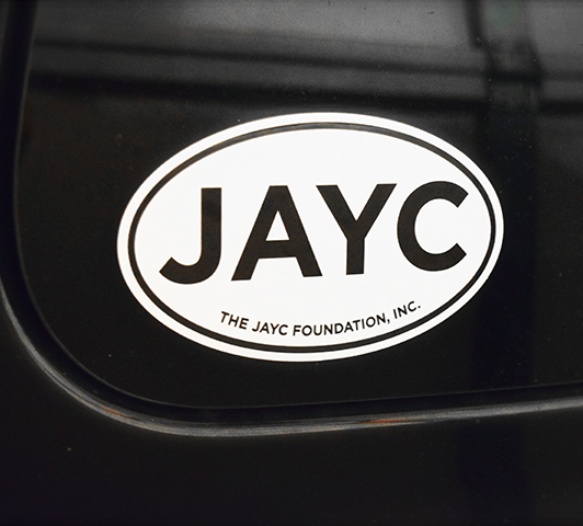 The JAYC Foundation Sticker