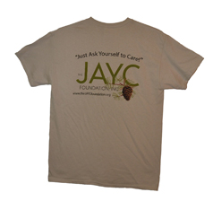 The Official JAYC Foundation T-Shirt (Unisex)