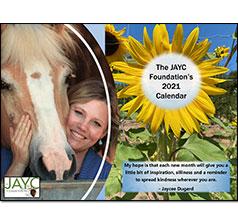 The JAYC Foundation 2021 Calendar