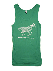 Words of The JAYC Foundation Fitted Tank Top (Women's)