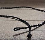 Black Cord (No Pine Cone Charm)