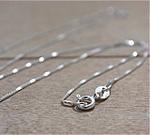 Silver Chain (No Pine Cone Charm)